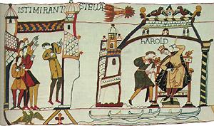 Teilansicht Teppich von Bayeux