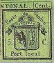 Erste Genfer Briefmarke aus dem Jahre 1843