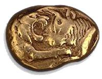 Münze um 650 v.Chr.