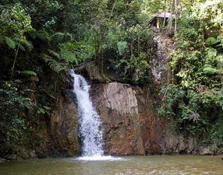 Jeriau Waterfall